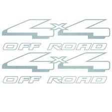 1998-2007 Aftermarket Ranger 4WD 4x4 Off Road Decals Stickers - Vinylmark SILVER