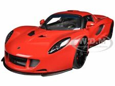 HENNESSEY VENOM GT SPYDER RED 1/18 DIECAST MODEL CAR BY AUTOART 75403