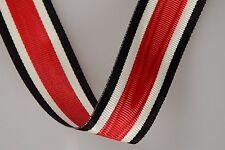 WK Ordensband Orden EK 2 Eisernes Kreuz Band 50 m  Wehrmacht Medal Ribbon !!!