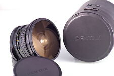 PENTAX 67 SMC F4.5 35 35mm 6x7 FISH-EYE CLA EXCELLENT TESTED LATE VERSION CASED