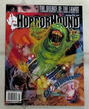 HORROR HOUND July August 2016 GHOSTBUSTERS Silence Of Lambs RETROSPECTIVE Lecter