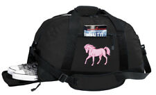 Pink Horse Duffel Bag BEST DUFFLE GYM Travel BAGS