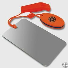 Find Me combo whistle mirror & float survival tools emergency earthquake kit UST