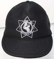 Vintage Lawman 1000 Motorcycle Run KCP WSP Make a Wish of Washington Trucker Hat