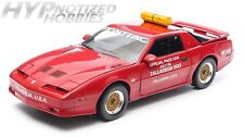 GREENLIGHT 1:18 1987 TALLADEGA 500 PACE CAR PONTIAC GTA  DIE-CAST RED 12859