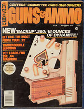 Magazine GUNS & AMMO Nov 1975 LUGER 1922 Abercrombie & Fitch Commercial Import