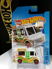 2014 HOT WHEELS RLC FACTORY SEALED SET WHITE ICE CREAM TRUCK - A20