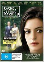 Rachel Getting Married (DVD, 2009) Anne Hathaway - REGION 4 AUSTRALIA