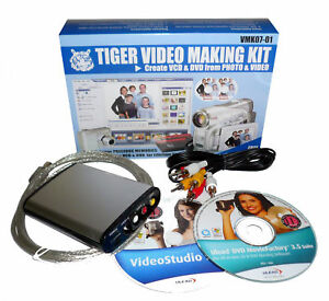 tigerDVD - DVD capture and dvd making kit- record TV show into DVD