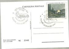 CARTOLINA NUMERATA 1981 PRIMO GIORNO GRUPPO -  BRISIGHELLA  GIUSEPPE UGONIA FDC