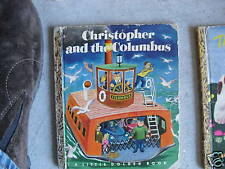 1951 Little Golden Book Christopher and Columbus #103