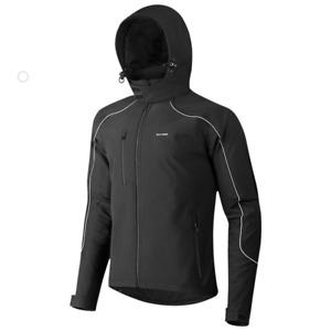 Winter Cycling Jacket Men Soft Shell Fleece Thermal Coat Outdoor Casual Warm