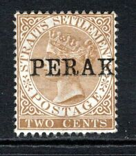 Perak QV 1880-81  2c Brown SG5 M/Mint