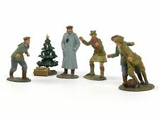 William Britains WWII Christmas 1914 Look At Him Go A Friendly Game 23086 23088