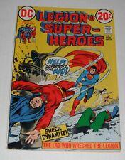 Legion of Super Heroes # 1...VF-  7.5 grade--A---1973 comic book