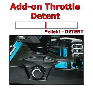 Saitek X55 / X56 Joystick Throttle Center Detent ***Made in USA***