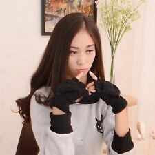 Lovely Warmer Winter Fingerless Gloves Women's Ladies Hand Wrist New