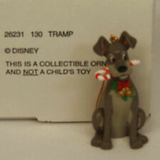 Groiler Disney Lady and The TRAMP Christmas Magic Ornament #130 MINT in BOX