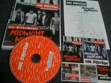 One Direction / midnight memories ultimate edit /JAPAN LTD CD OBI, book,sticker