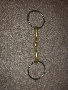 Neue schule team up french link loose ring snaffle bit size 5.5
