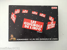 les Guignols de l'info (Jeu de société télévisé) 1994 IDEAL Francais Board Game