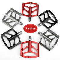 "9/16"" Ultralight Aluminum Bicycle Pedals 3 Sealed Bearings Mountain Bike Pedal"
