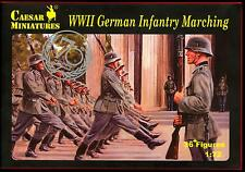 Caesar Miniatures 1/72 GERMAN WORLD WAR II MARCHING INFANTRY Figure Set