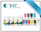 Refill Cart kit suits Epson SureColor SC-P800 -Carts + rihac Inks T8501-T8509