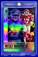 MECOLE HARDMAN 2019 PANINI ILLUSIONS JERSEY #17 NON PRIZM /AUTO ROOKIE REFRACTOR