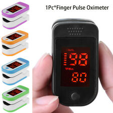 Finger Fingertip Pulse Oxygen Saturation Monitor Blood Oximeter Pressure Meter