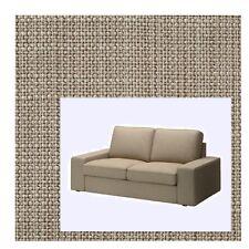 "IKEA Kivik""2-Seat""Sofa Cover Isunda Beige Slipcover NEW Light Tan Tweed Loveseat"