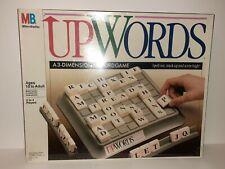 Vintage 1988 UPWORDS 3-Dimensional Word Game Milton Bradley #4312 New & Sealed!