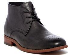 $135 Florsheim Rockit Chukka Men's Lace Up Leather Ankle Boots Black Size 9.5