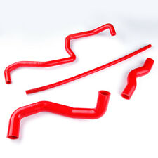 For Nissan 350 Z 350Z 03 04 05 06&Infiniti G35 Silicone Radiator Hose Kit Red