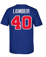 Detroit Pistons NBA Adidas Bill Laimbeer 1989 Throwback Men's Blue Shirt