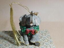 Lenox Sitting Elephant Ornament 1999