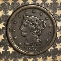 1853 Braided Hair Large Cent Copper Collector Coin FREE SHIPPING