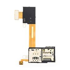 For Sony Xperia M2 Aqua Sim Card Reader & SD Reader Flex Cable Replacement