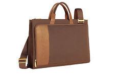Piquadro PQ7 Light Tan Thin briefcase/Organized portfolio briefcase CA1619PQ/CU
