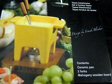 New Yellow Boska Tapas Cheese Fondue Holland Frank Bleeker Dips Chocolate