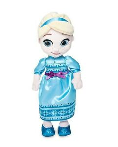 "Disney Store Animators' Collection Elsa Plush Doll – Small – 12"""