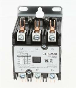 OEM American Standard Trane Contactor CTR02578 / CTR-2578  3P 40A 120V