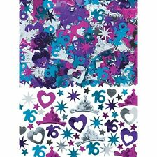 Amscan 361466 16th Sweet Confetti Pack of 12