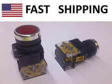 Push Button Momentary Switch Industrial School Electrical Part Supply - RED new