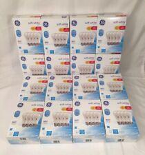 GE LED 60W~10W SOFT WHITE DIMMABLE  LIGHT BULBS 64 Mega Pack