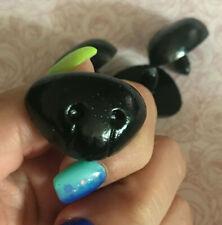 Sicherheitsnase schwarz 25mm, 30mm, 35mm, Teddynase für Stofftiere und Amigurumi