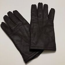 New listing Vintage Fownes Brown Leather Driving Gloves Mens Size Xl Classic Style Winter