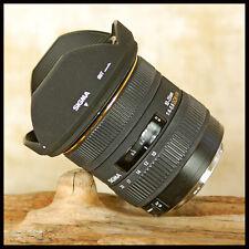 Excelente Canon EOS Digital Sigma Ultra Wide 10 20mm EX DC HSM Zoom Lente + Capucha