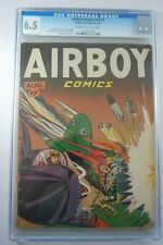 AIRBOY COMICS V4 #7 - 6.5 CGC GRADED  BONDAGE CVR  Scarce, only 7  CGC graded!!