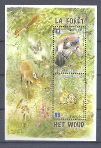 BELGIUM 2011 EUROPA MNH** BLOK 194 THE FOREST